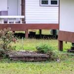 Septic Tank in Backyard
