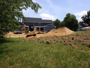 Sand Mound System Install in Carroll County MD
